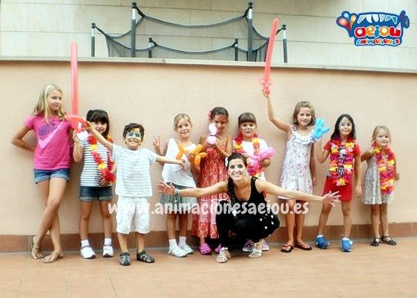 Animaciones infantiles en Asturias a domicilio