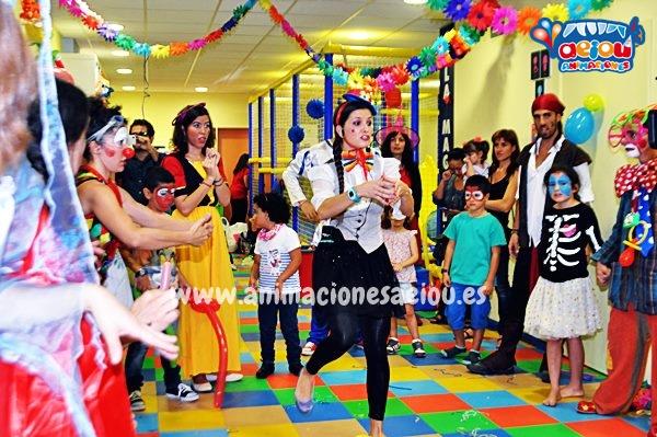 Animaciones de fiestas infantiles en Asturias