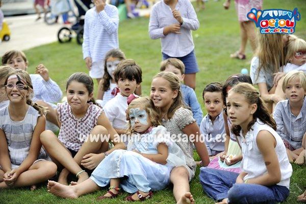 Animación infantil para comuniones en Asturias