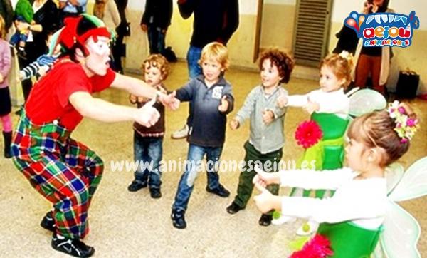 Animadores para fiestas infantiles de cumpleaños a domicilio en Asturias