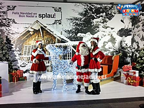 Contratar la visita de Papá Noel a domicilio en Asturias