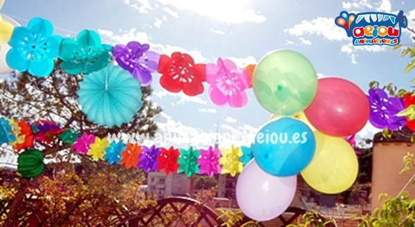 Decoración para fiestas infantiles en Asturias