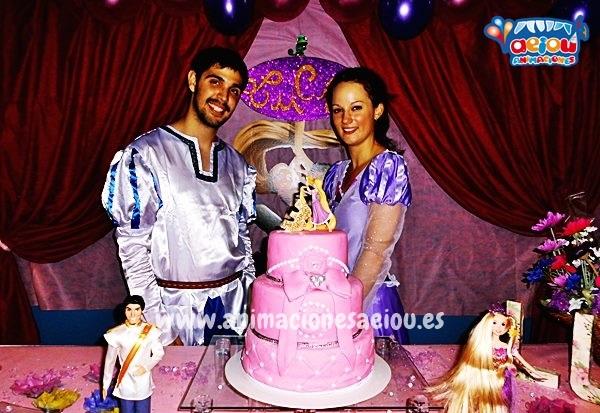 Fiesta temática de Princesas en Asturias