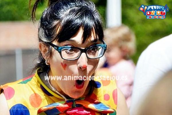 Payasos para fiestas de cumpleaños infantiles en Asturias