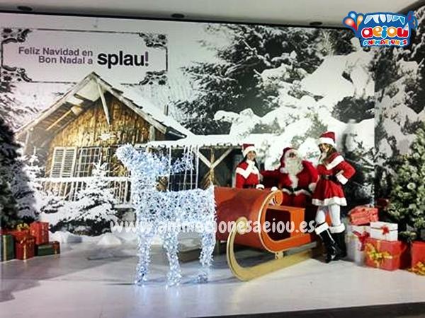 Santa claus a domicilio en Asturias