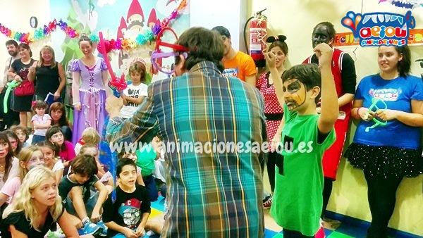 Animaciones de Fiestas Infantiles en Oviedo