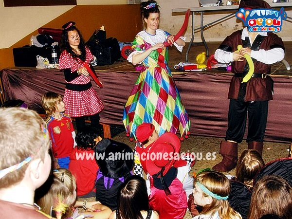 Animaciones para fiestas de cumpleaños Infantiles y Comuniones en Oviedo