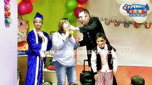 Los mejores Magos para fiestas infantiles en Gijón