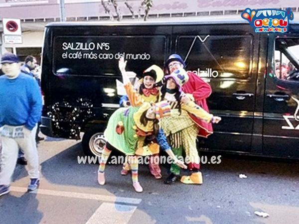 Animadores, magos y payasos en Asturias