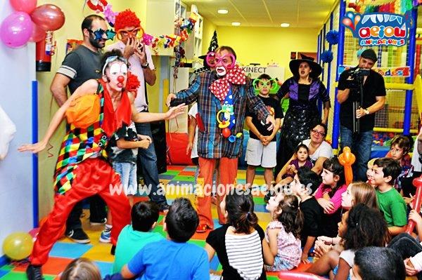 Animadores, magos y payasos en Santander