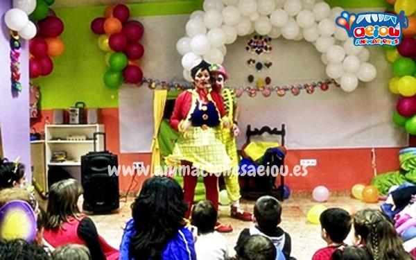 Animadores para fiestas infantiles en Ribadesella