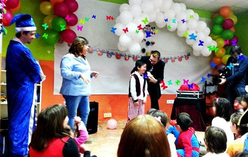 Magos para fiestas infantiles en Santander