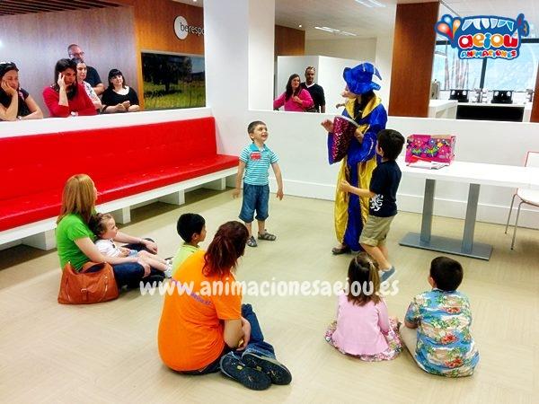 Animaciones para fiestas de cumpleaños infantiles y comuniones en Ribadesella