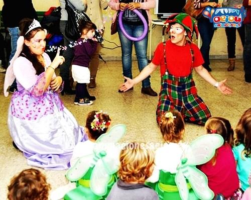 Animaciones para fiestas de cumpleaños infantiles y comuniones en Santander