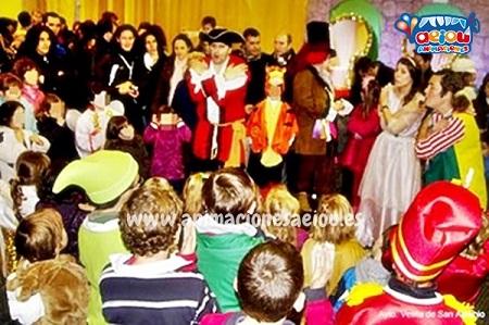 animaciones para fiestas de cumpleaños infantiles y comuniones en Cangas de Narcea